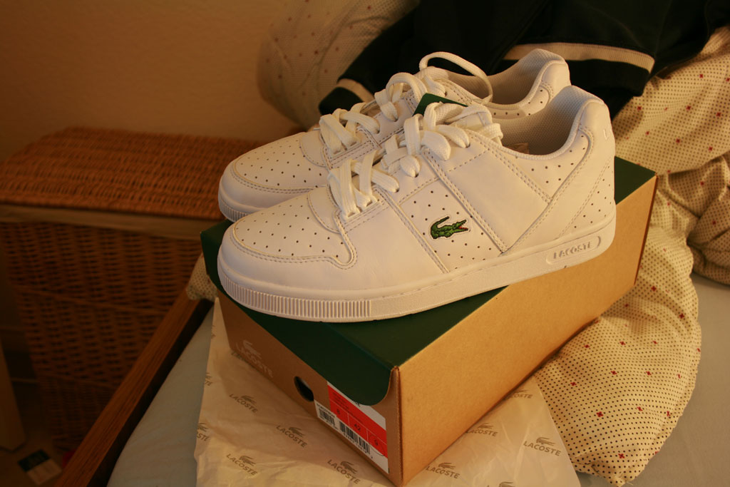 Lacoste Thrill Space for $50